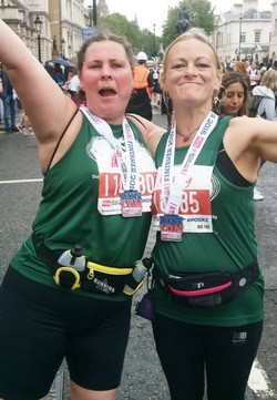 Four run and raise £400 for COT in the British 10k 2016